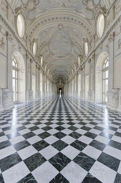 La Galleria Grande, Palace of Venaria, Torino, Italy