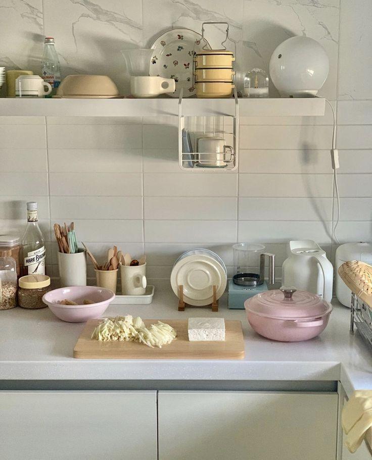 g e o r g i a n a in 2020 korean apartment interior aesthetic room decor japanese home decor on kitchen interior korean id=50798