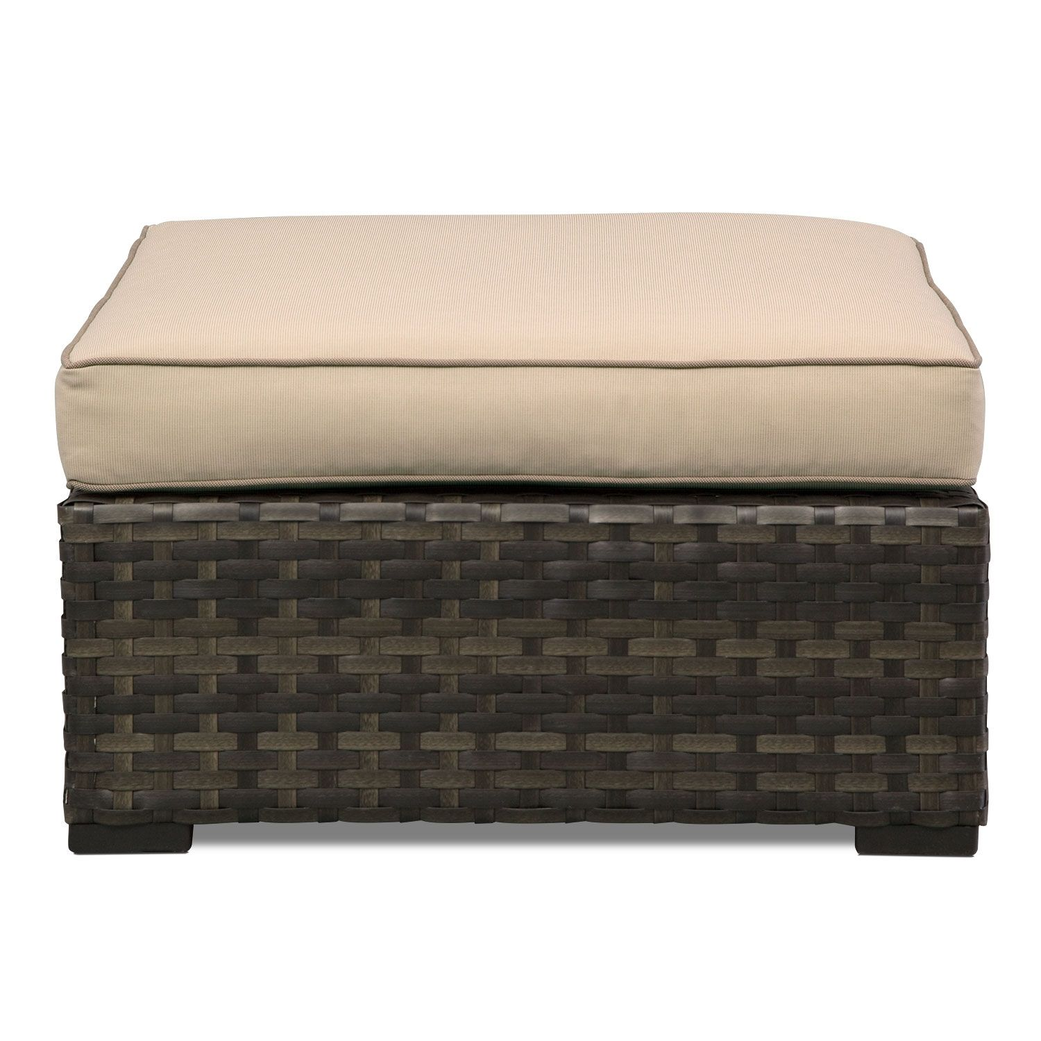 Regatta Outdoor Ottoman | Value City Furniture #VCFcontest - Regatta Outdoor Ottoman Value City Furniture #VCFcontest
