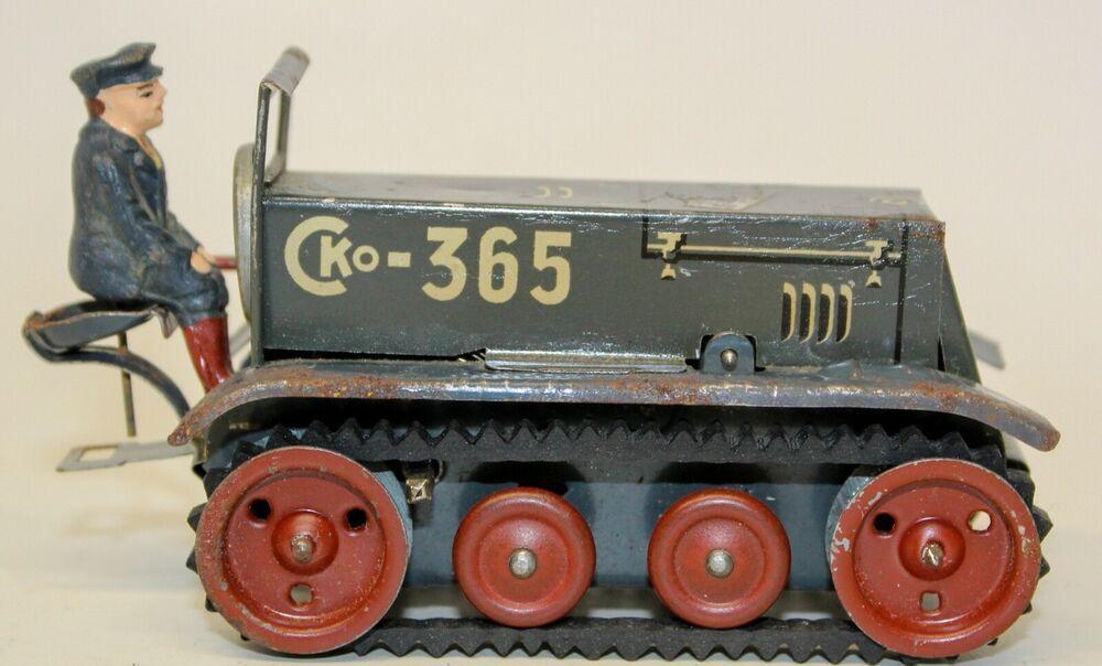 "VINTAGE PREWAR CKO KELLERMANN SMALL ""365 CLOCKWORK"