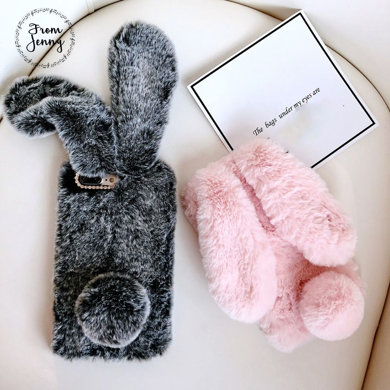 save off ff237 d1ed9 From Jenny Fluffy Rabbit Phone Case For Apple iPhone 6 6s 7 7plus 8 ...