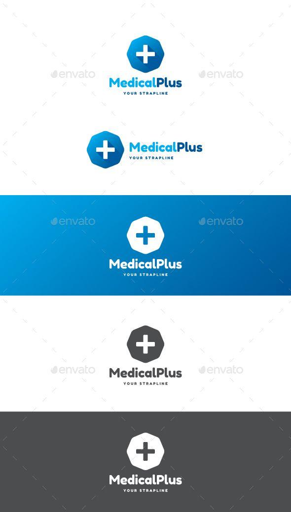 Medical Plus Logo | Logo templates, Medical and Modern logo