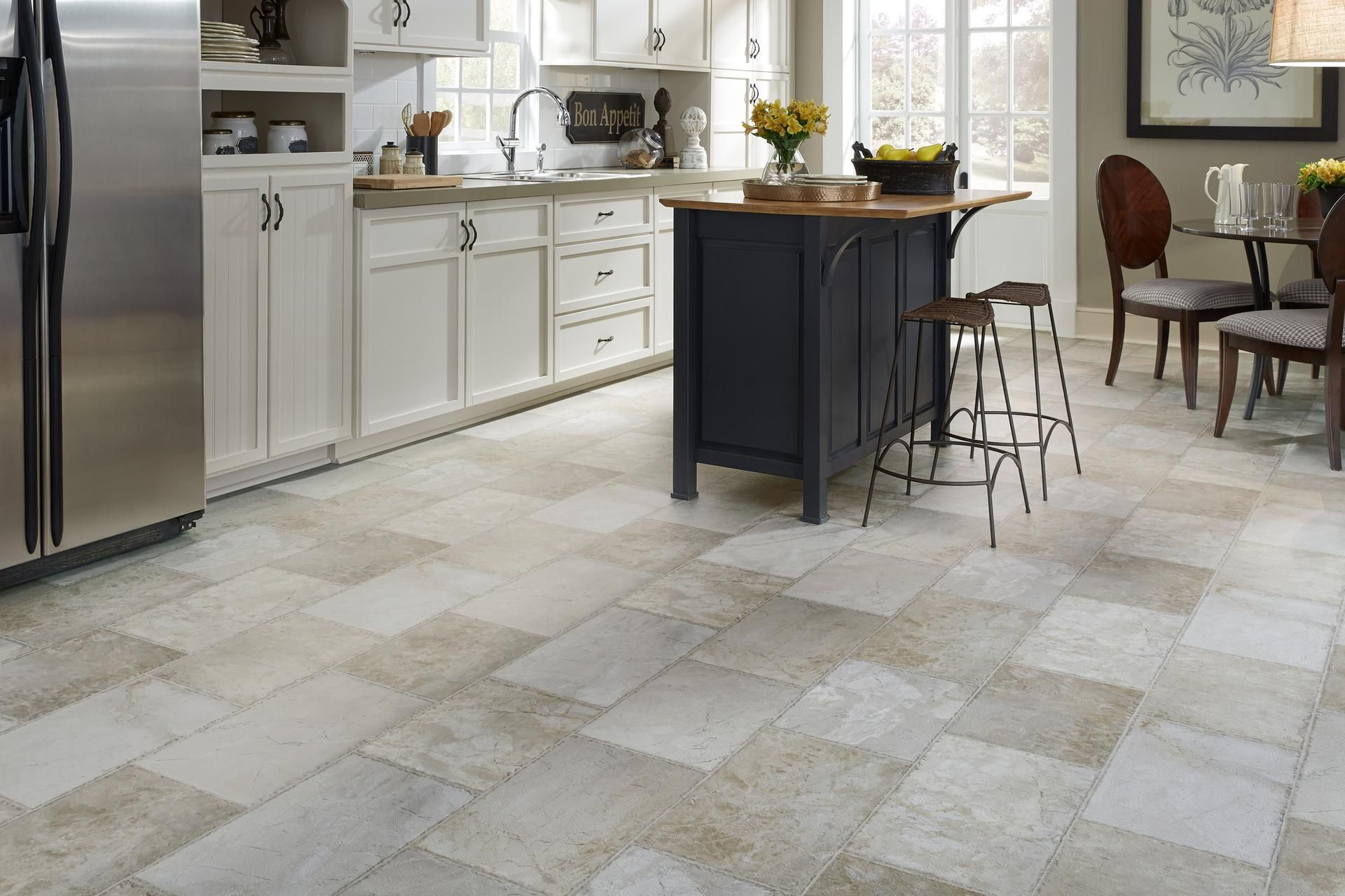 9 Gorgeous Kitchen Materials That Are Practically Indestructible Kitchen Flooring Durable Flooring Most Durable Flooring