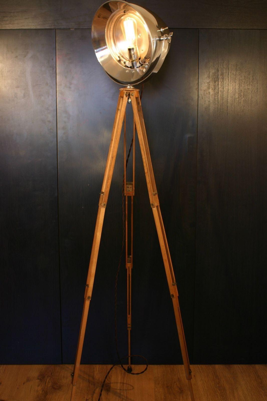 Old Medical Tripod Lamp 1951 Year Industrial Retro Floor Lamp | EBay