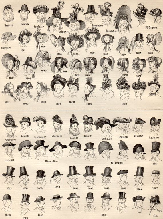 Hat Styles Hat Fashion Types Of Hats Hats Vintage