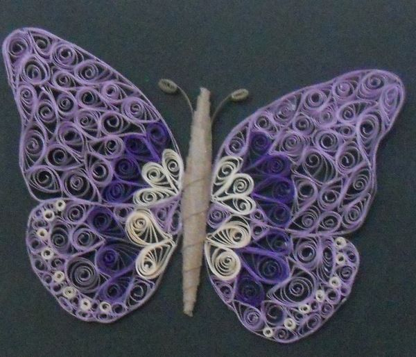 quilling butterflies | Quilled butterfly