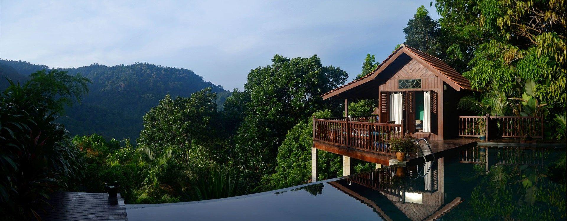 12 Tempat Percutian Menarik Di Malaysia Unik Relaxing Getaways Relaxing Vacation Spots Forest Resort