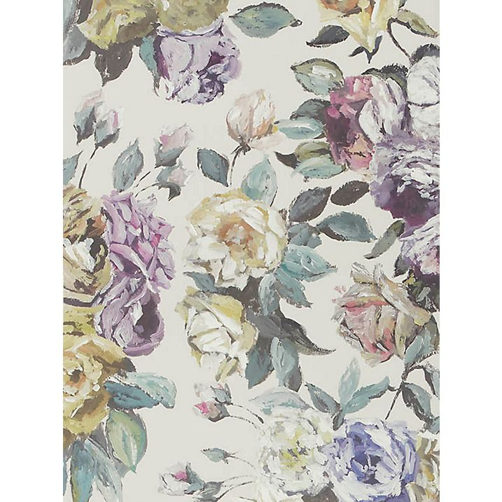Buy designers guild viola digital print wallpaper heather p609 01 online at johnlewis