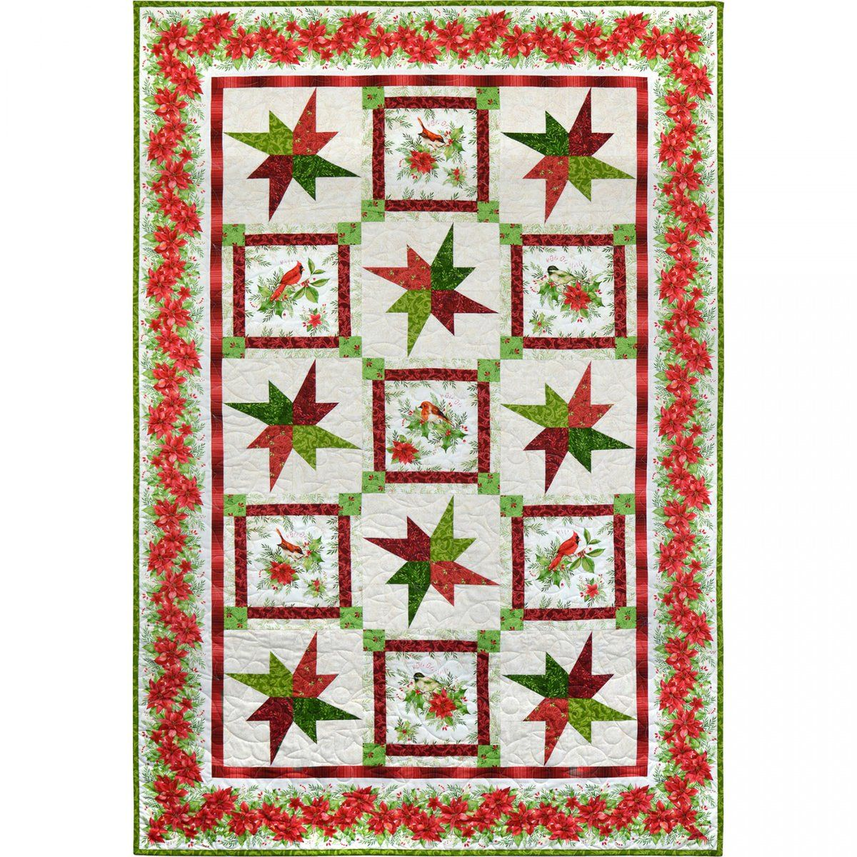 Songbird Christmas Star quilt by Debbie Beaves | christmas ... : debbie beaves quilt patterns - Adamdwight.com