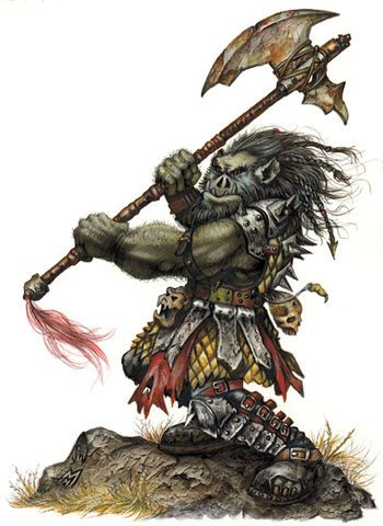 Orc , Forgotten Realms Wiki ,DUNGEONS & DRAGONS | Monsters
