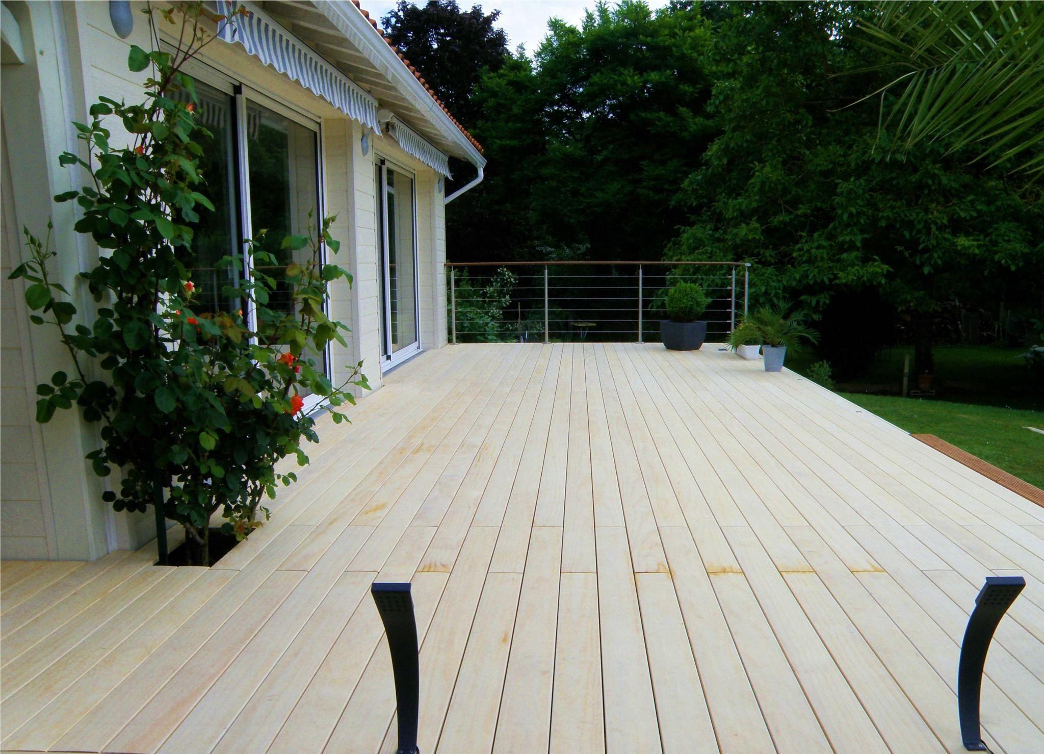 Holzterrasse Selber Bauen Bausatz Accoya Holzterrassen