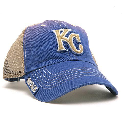 low priced 2f706 cb18b Kansas City Royals Mongoose Mesh Back Adjustable Cap by  47 Brand - MLB.com  Shop