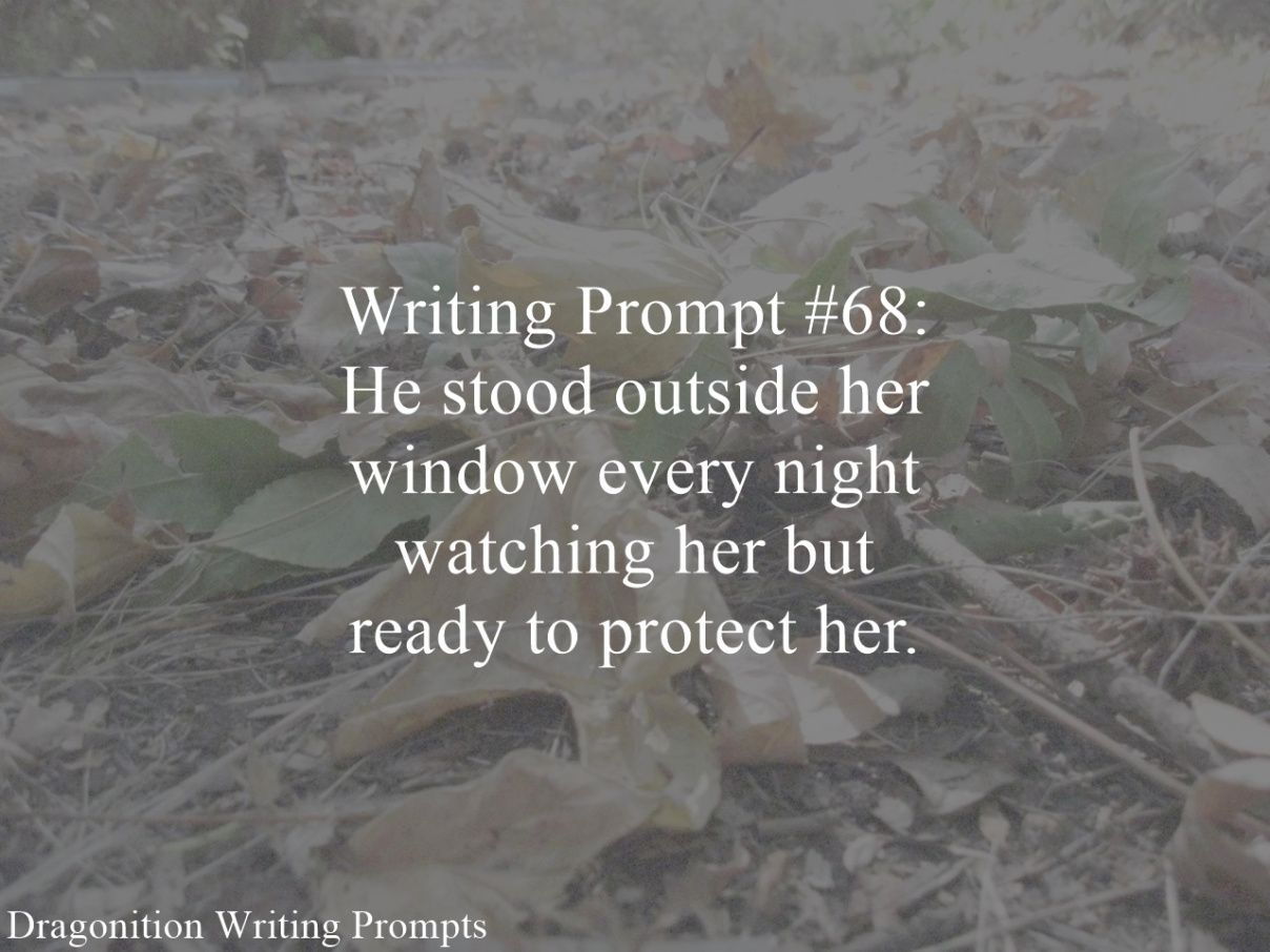 Creative Writing Prompt 1: Outside The Window