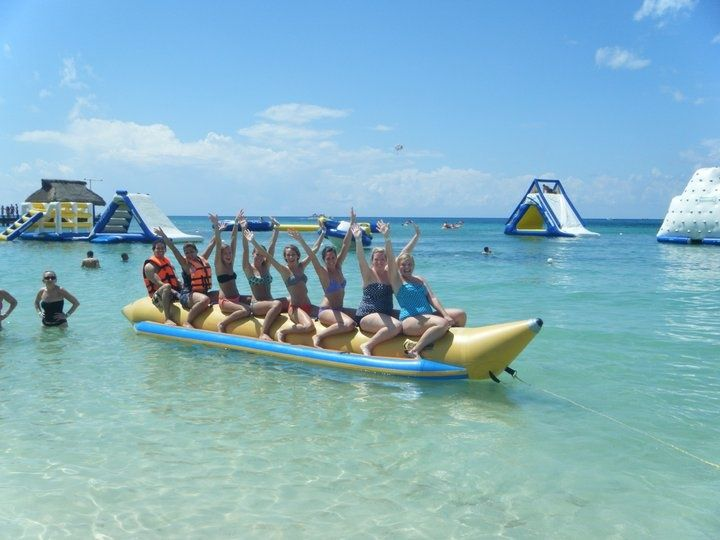 Pin By Haley Hacala On Take Me There Pinterest Paradise Beach Cozumel Floating In Water Cozumel