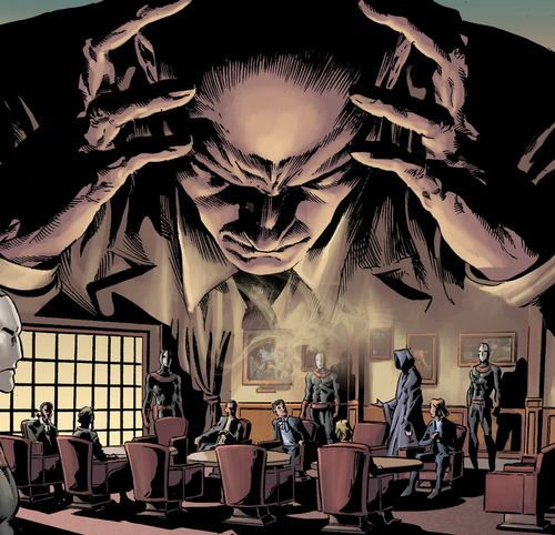 Professor X by Mike Deodato.