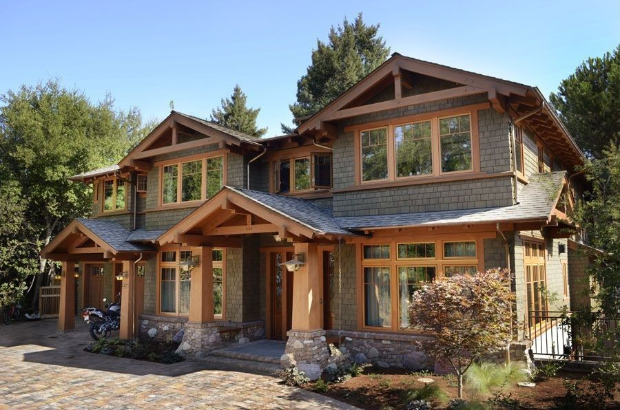 ly Craftsman home with paver driveway. #homes #homeexteriors ... on rustic driveway, bungalow driveway, mediterranean driveway, modern driveway, traditional driveway,