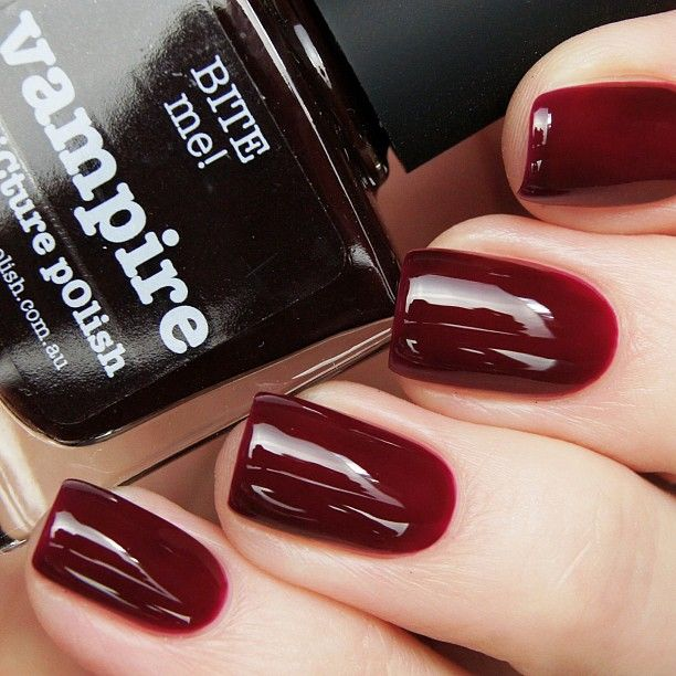 Picture Polish Vampire Mine has a lot more purple to it, that\'s why ...