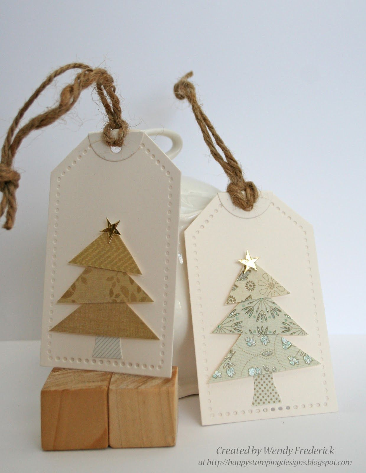 Happy Stamping Designs: Christmas Tags