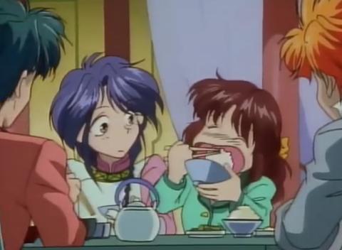 Miaka eating ふしぎ遊戯