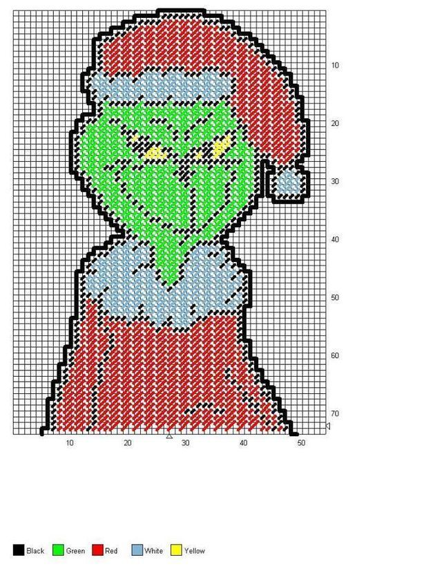 THE GRINCH FULL BODY WALL HANGING 1 2