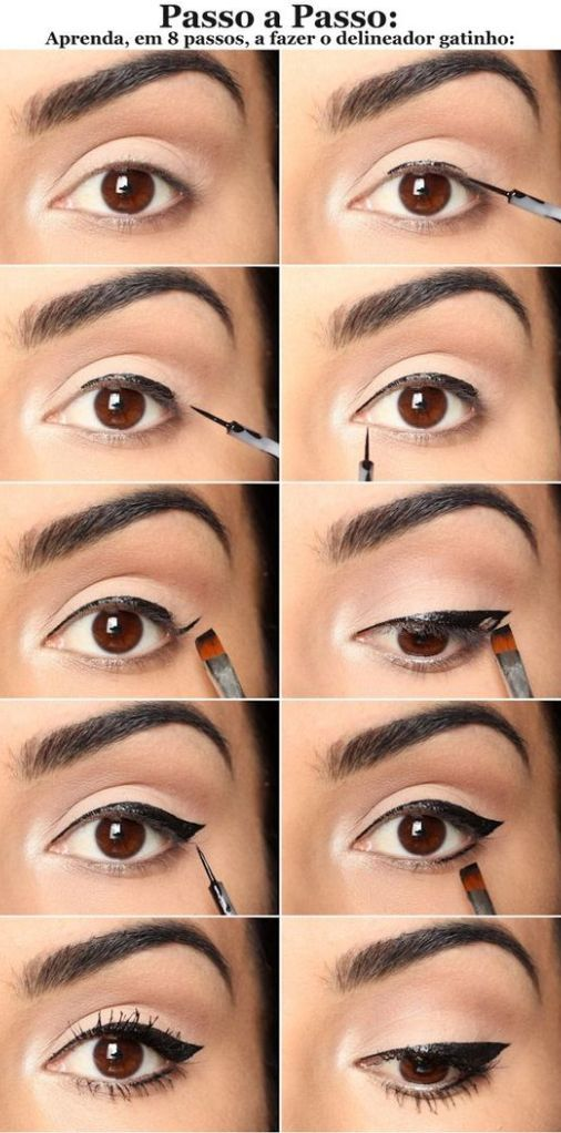 Beginners Eye Makeup: 10 Easy Step-By-Step Eyeliner Tutorials For Beginners