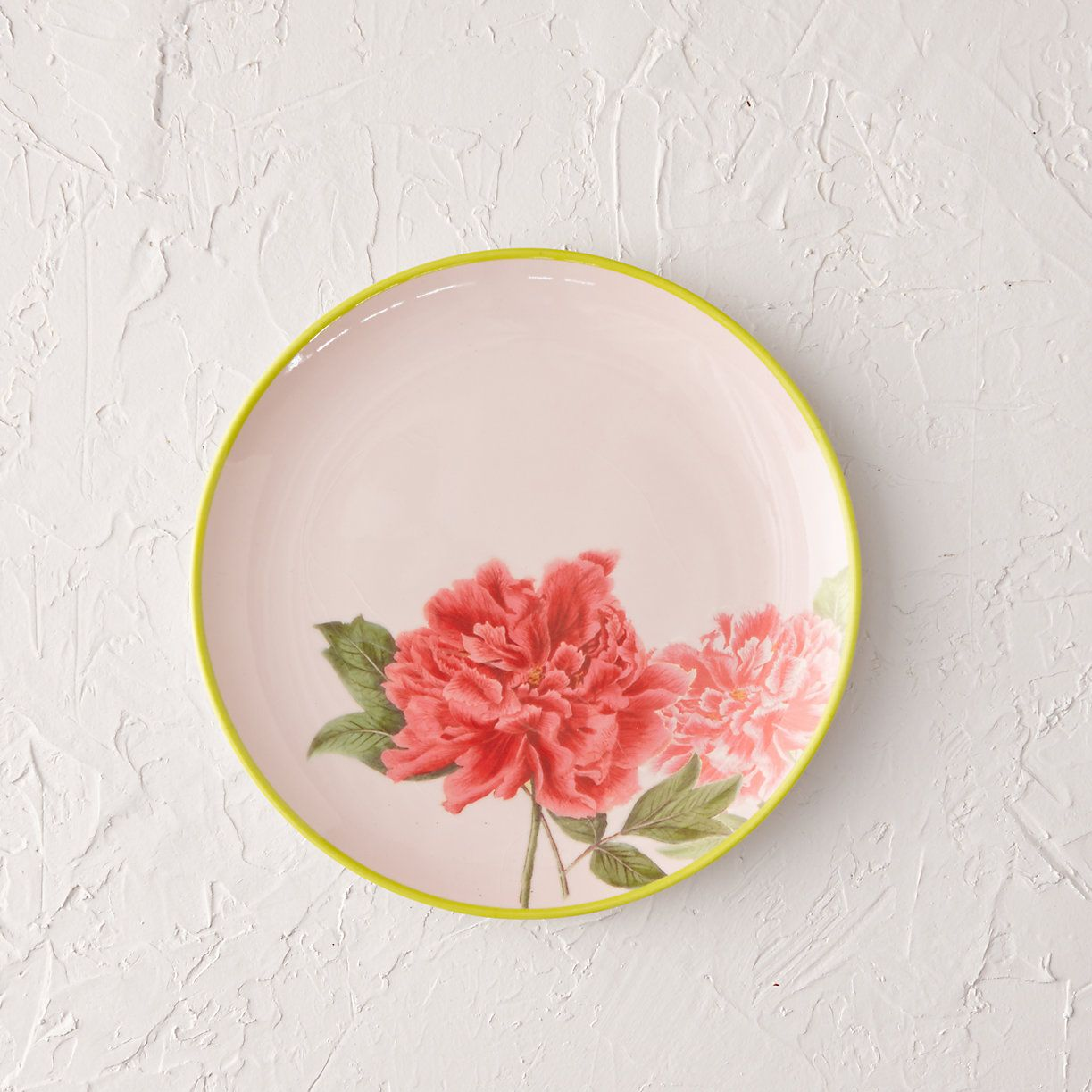 ... this vintage-inspired melamine plate is perfect for picnics and outdoor gatherings.- Melamine- Dishwasher safe- Do not microwave or expose to ... & Peony Melamine Side Plate | Side plates Outdoor dining and Dinnerware