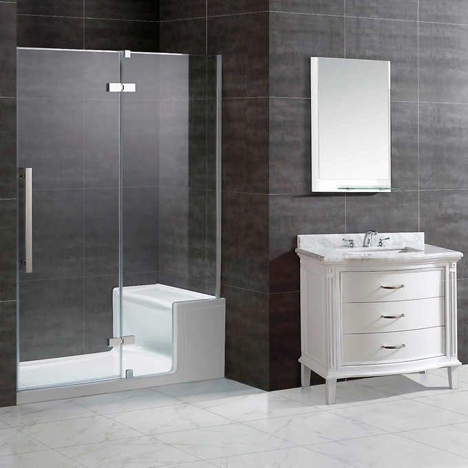 Ove Decors Geri 60 Shower Kit Shower Doors Shower Kits Shower Base