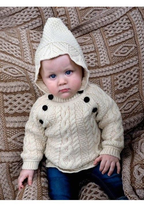 725a56fc6 BABY HOODED SWEATER Made from 100% Merino Wool Colours Available ...