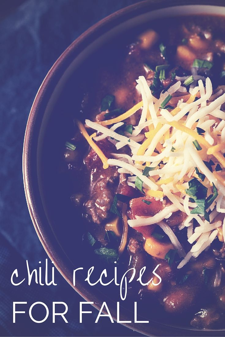 Time to break out the slow cooker! 20 Comforting Chili Recipes for Fall | Relish.com