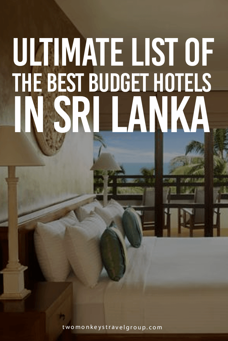 List of the Best Budget to MidRange Hotels in Sri Lanka