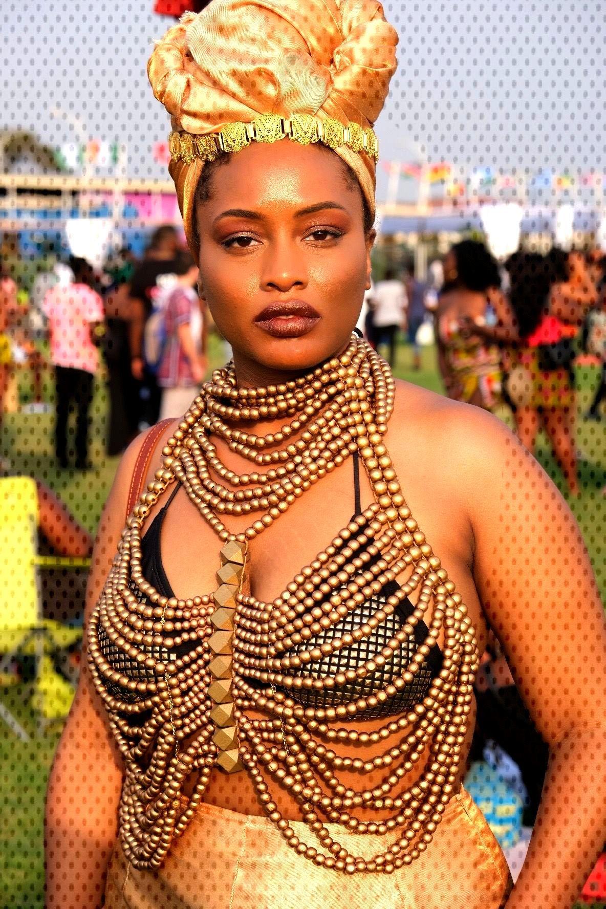 Afrochella 2019 Afrochella/ Afropunk fashion inspo