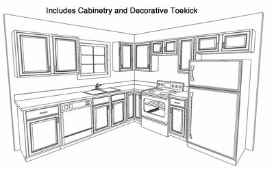 8x10 kitchen design plans | kitchen cabinets layouts - kitchen