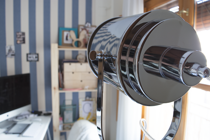 milowcostblog: la lámpara perfecta para mi taller