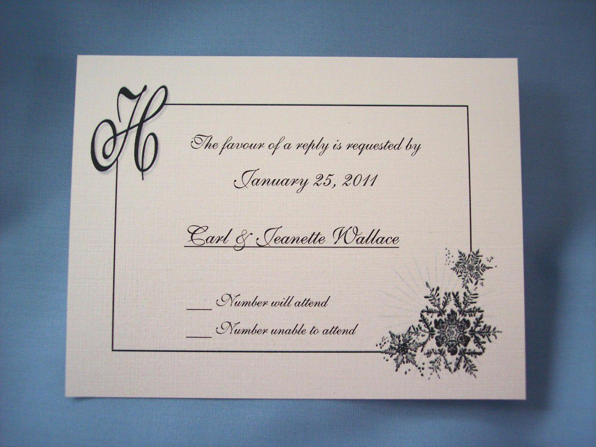 Wedding Invitation Reply Card Wording Invitations Design Inspiration