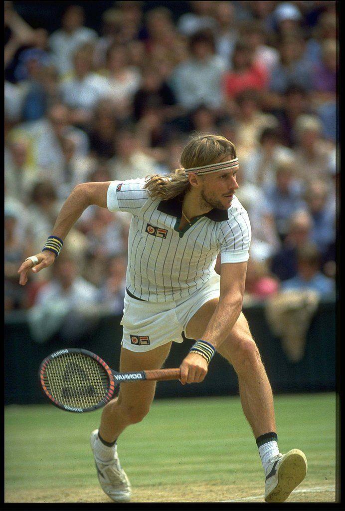 Fila Vintage Retro White Polo 2019 Borg Retro Tennis Shirt Wimbledon