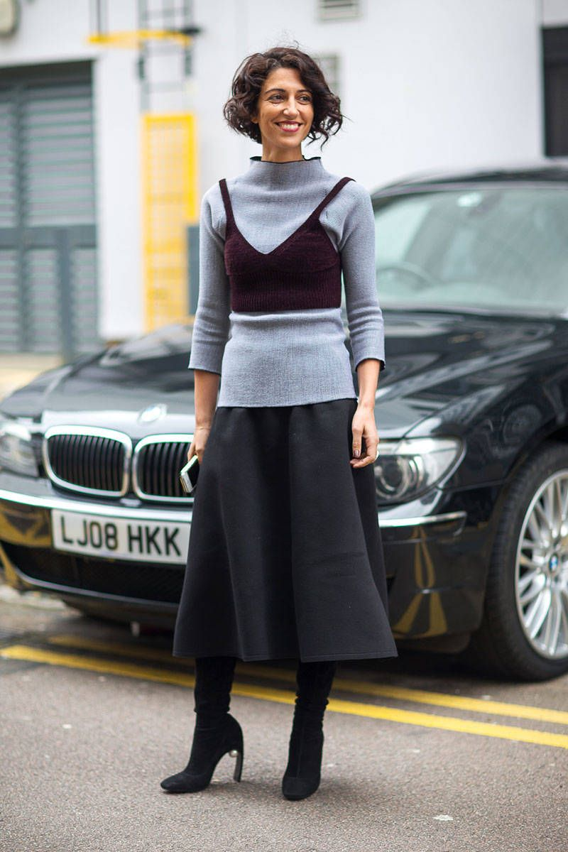 London Calling: Street Style Fall 2014