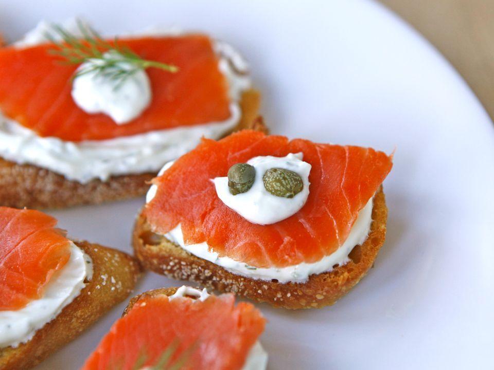 smoked salmon crostini smoked salmon crostini smoked salmon crostini ...