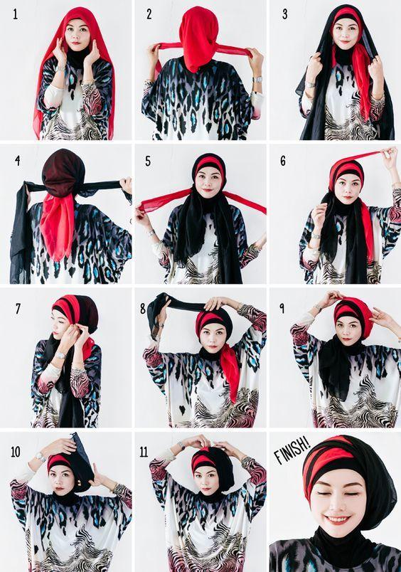 Videolu En Yeni Sal Baglama Modelleri Mimuu Com Sal Guzel Turban Kostum Fikirleri