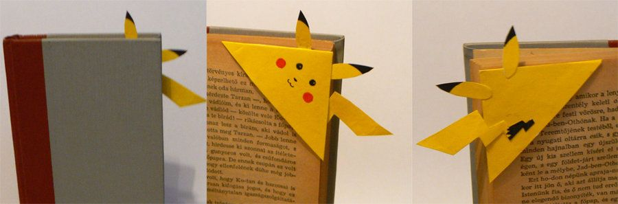 Pikachu Bookmark By Lecoeurblanc