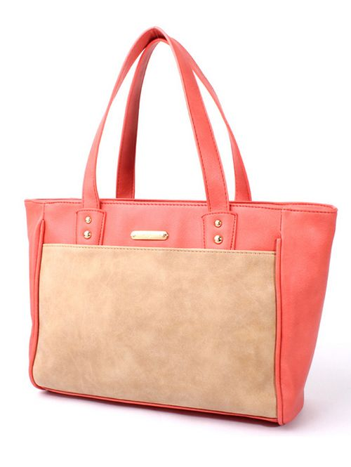 Stylish contrast color western practical women handbags TW-4116