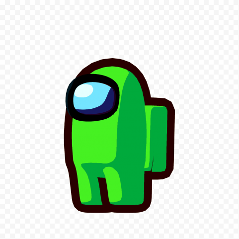 Lime Light Green Among Us Character Png Citypng In 2021 Light Green Lime Png