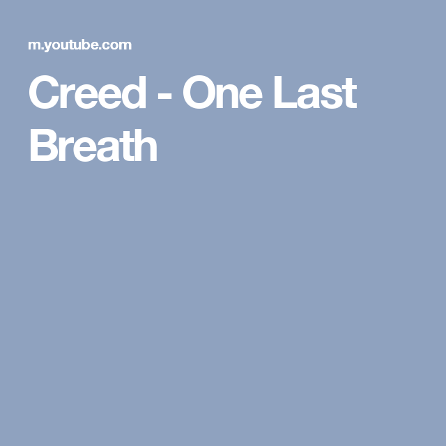 Creed - One Last Breath | Tutorial Guitar | Pinterest | Guitars and ...
