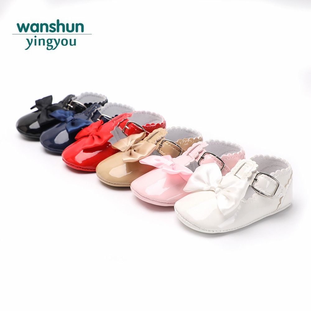 8da96f5ca Baby girls lovely cute Sandal Summer shoes babies for girl little kids soft  sole newborn infant Anti-slip PU leather Bowknot New Price  2.05   FREE  Shipping ...