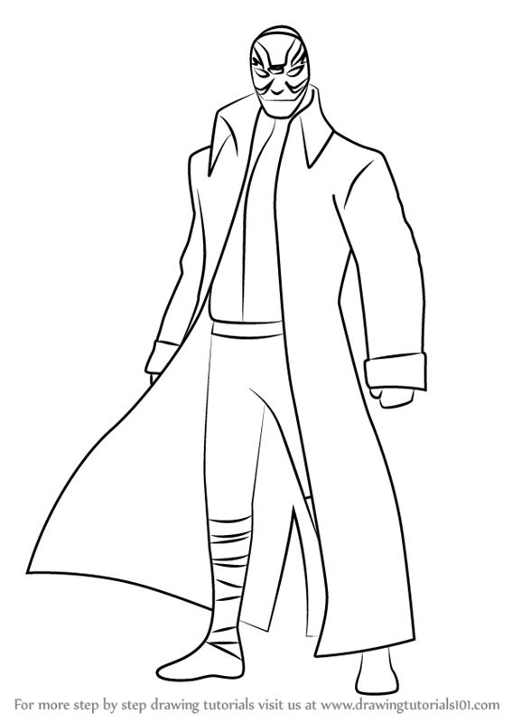Learn How To Draw Yokai From Big Hero 6 Big Hero 6 Step By Step Drawing Tutorials Big Hero 6 Hero 6 Big Hero