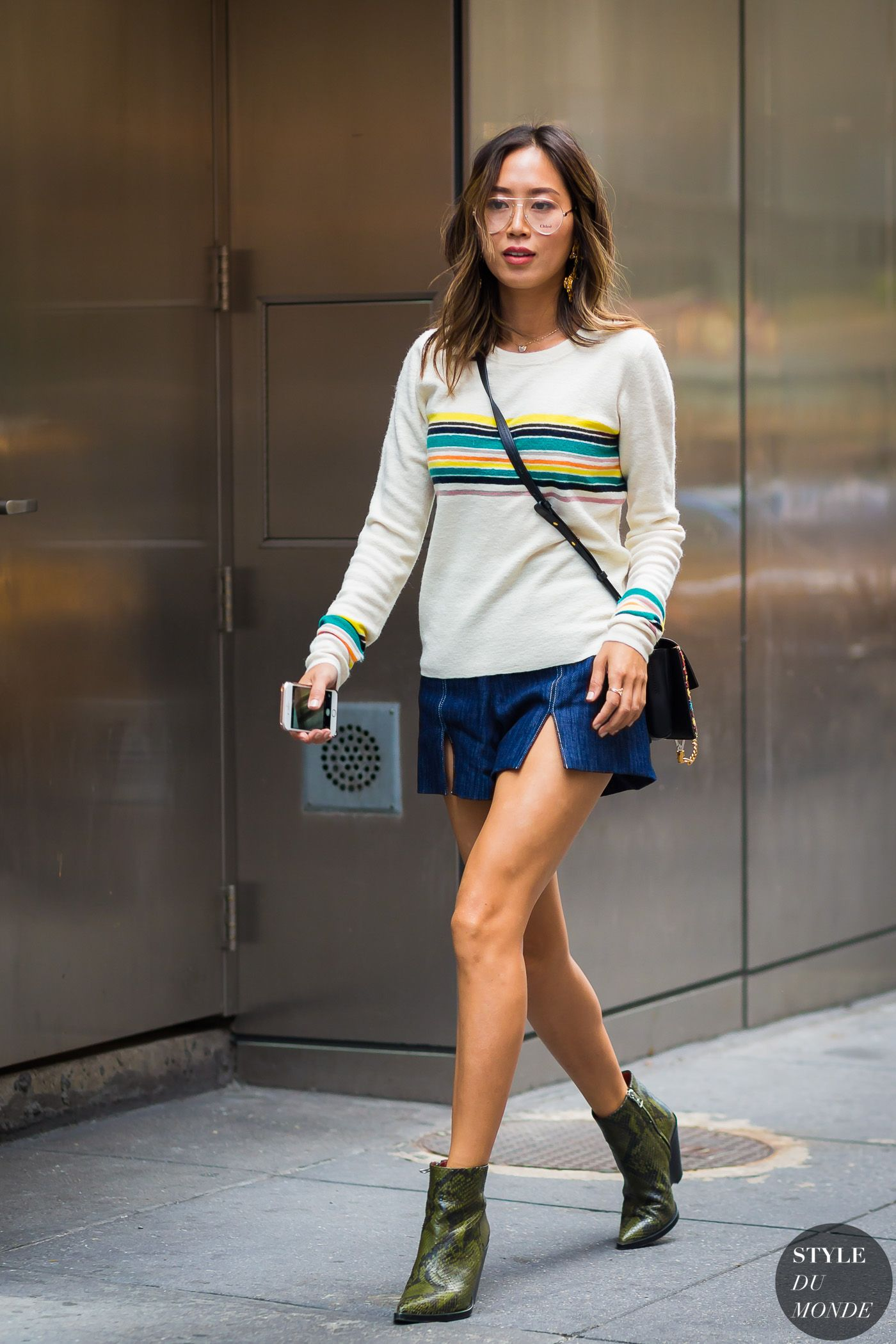 83b92e768 New York SS 2017 Street Style: Aimee Song | Fashion: Looking Good ...