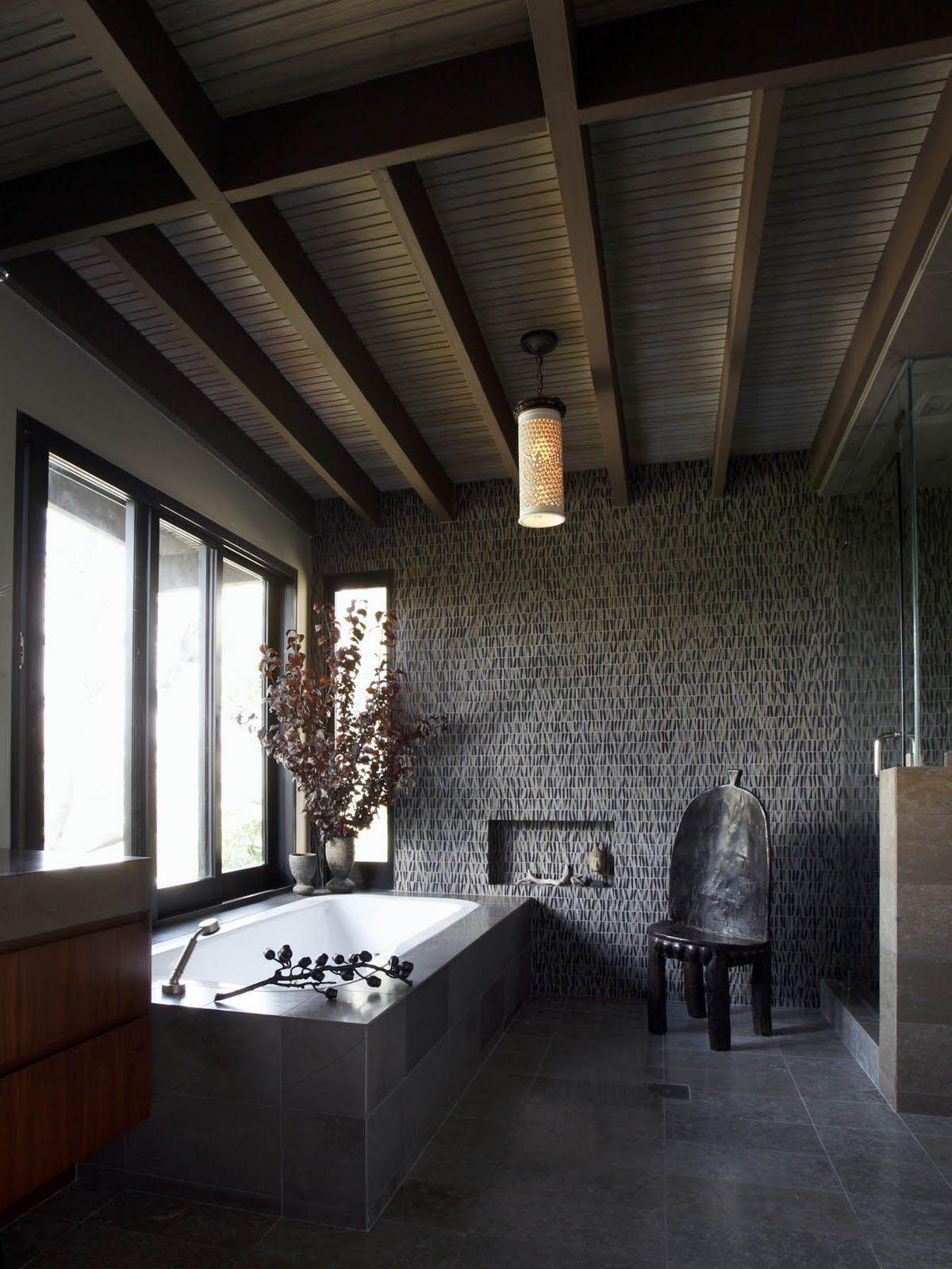 Moody Zen Bath By Edward Duarte House Badezimmer Baden