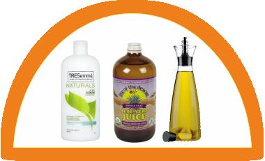 Conditioner, aloe vera juice and oil