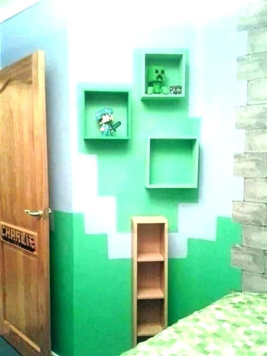 Minecraft Simple Wall Designs : minecraft, simple, designs, Minecraft, Decor, Bedroom, Ideas, Decorations, Themed, Decor,