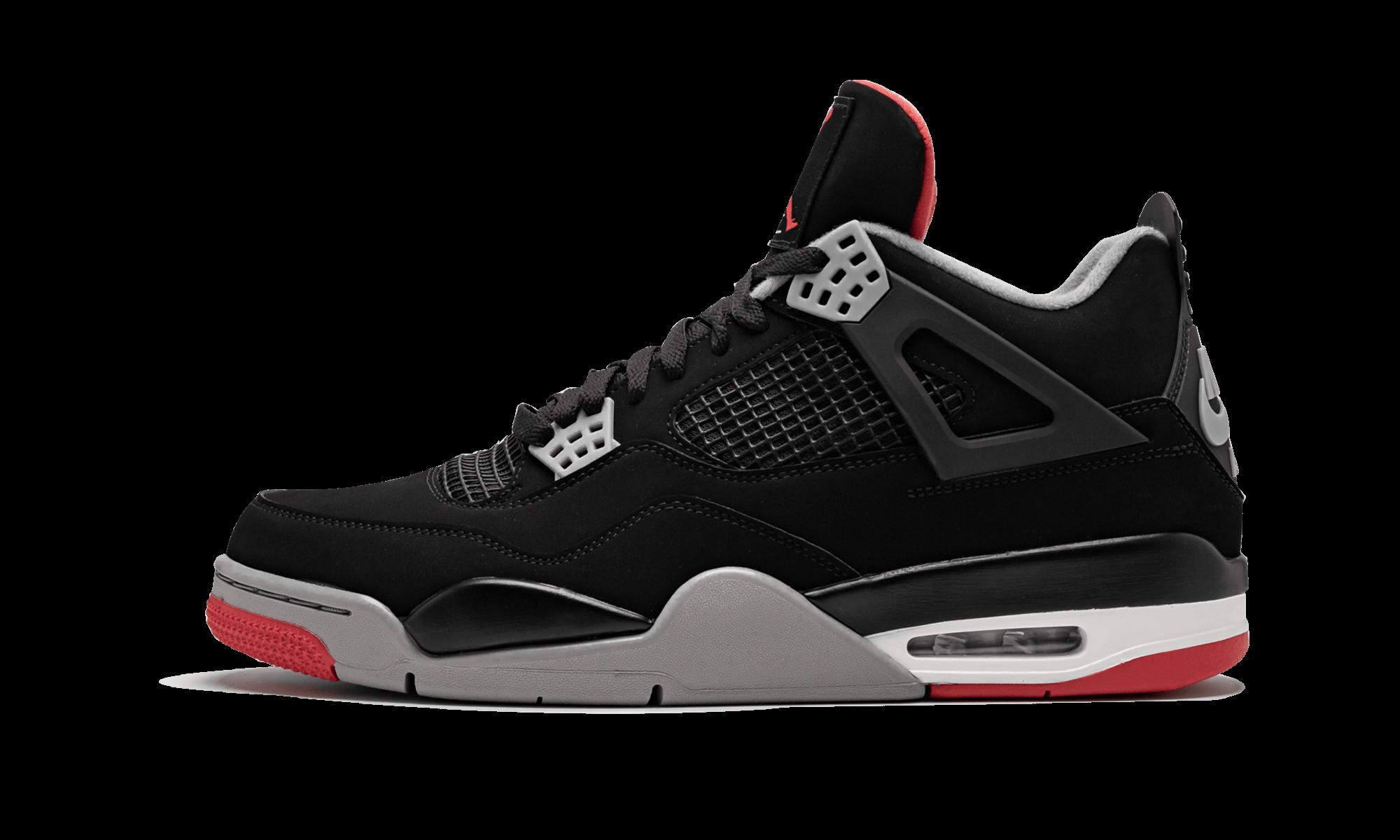 Air Jordan 4 Retro Bred 2019 Release 308497 060 2019 Air Jordans Air Jordans Retro Air Jordan 4 Bred