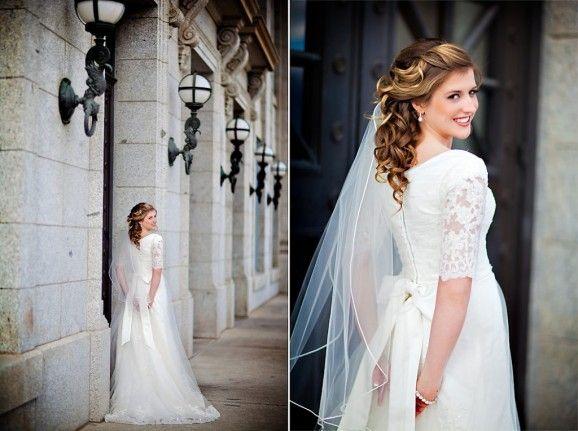 LDS Temple Weddings, LDS Temple, LDS Bride, LDS bride tips, modest ...
